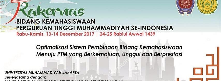 Rakernas Bidang Kemahasiswaan PTM se-Indonesia Tahun 2017