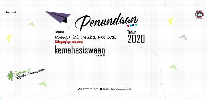 Penundaan Kegiatan Kompetisi, Lomba, Festival Tahun 2020