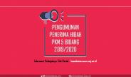 Pengumuman Pemenang PKM 5 Bidang 2019/2020