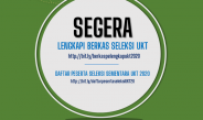 Kelengkapan Berkas Peserta Seleksi UKT 2020